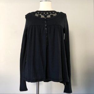 FREE PEOPLE - Henley Thermal Top